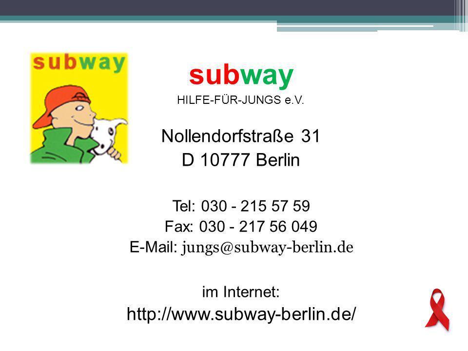 subway HILFE-FÜR-JUNGS e.V.