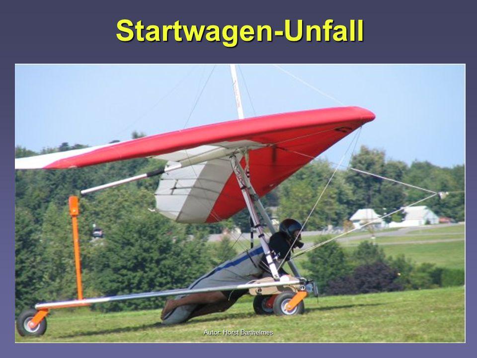 Startwagen-Unfall Autor: Horst Barthelmes