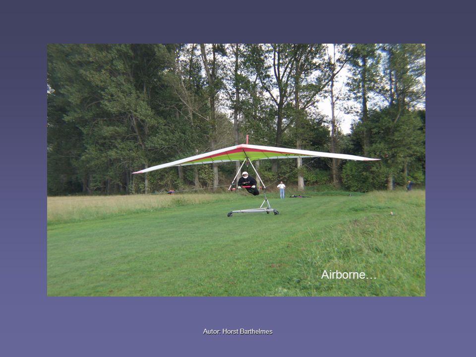 Autor: Horst Barthelmes Pilotenposition im Startwagen