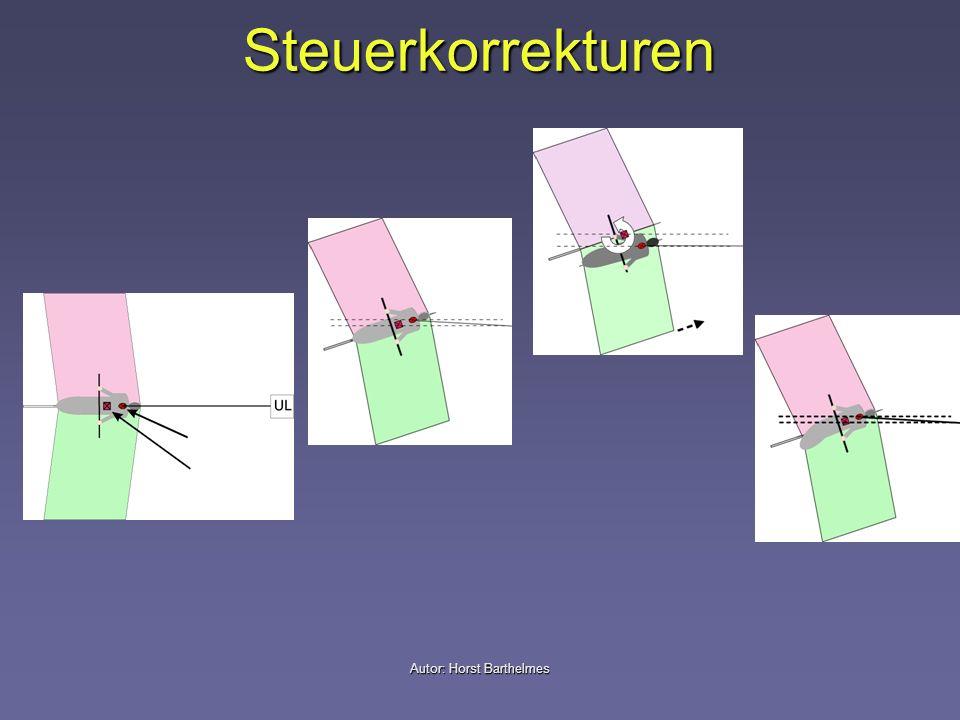 Steuerkorrekturen Autor: Horst Barthelmes