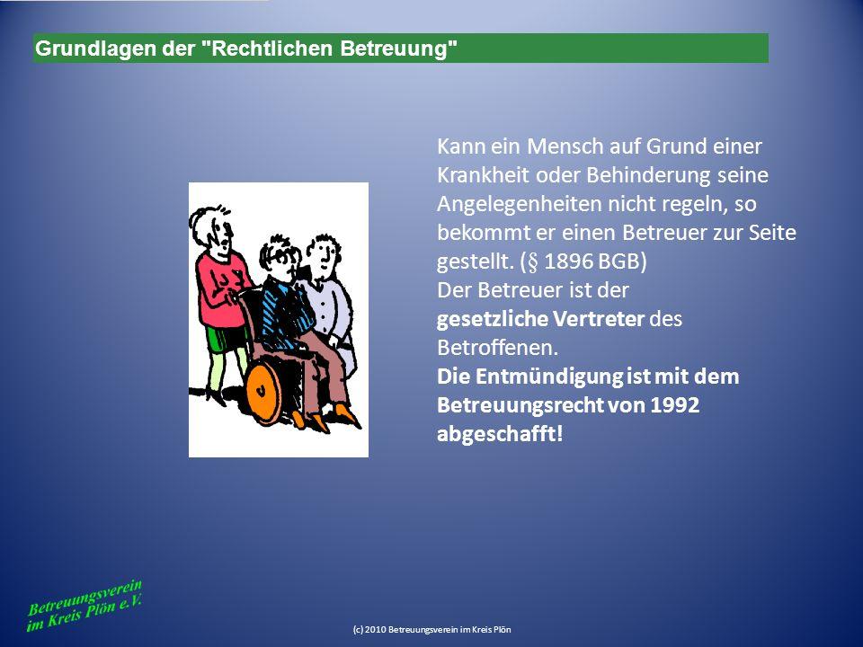 (3) Als Aufgabenkreis kann auch die Geltendmachung von Rechten des Betreuten gegenüber seinem Bevollmächtigten bestimmt werden.