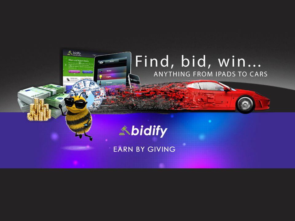 Die Vergütung Die 5 Verdienstmöglichkeiten als Partner von Bidify: Verdienst aus dem Erwerb von Retail Bids bei Bidsson durch von Ihnen persönlich empfohlene Kunden.