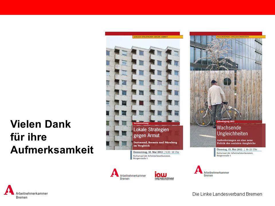 Die Linke Landesverband Bremen Vielen Dank für ihre Aufmerksamkeit
