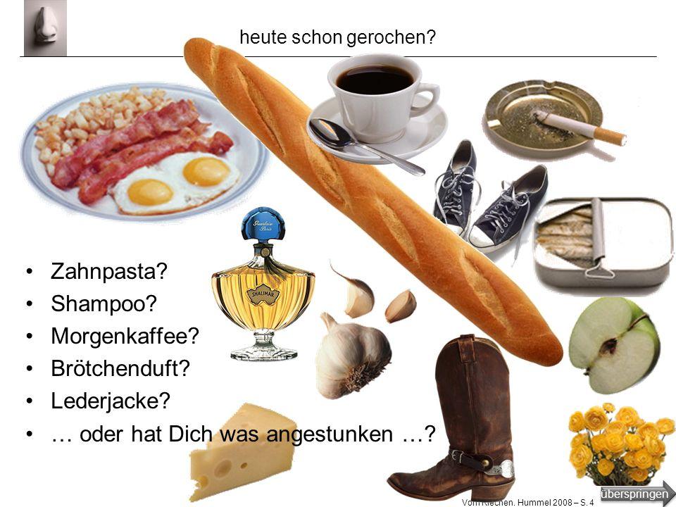 überspringen Vom Riechen.Hummel 2008 – S.