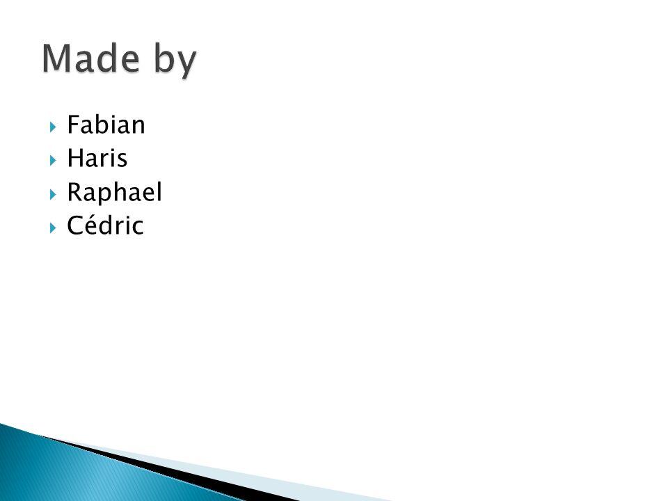 Fabian Haris Raphael Cédric