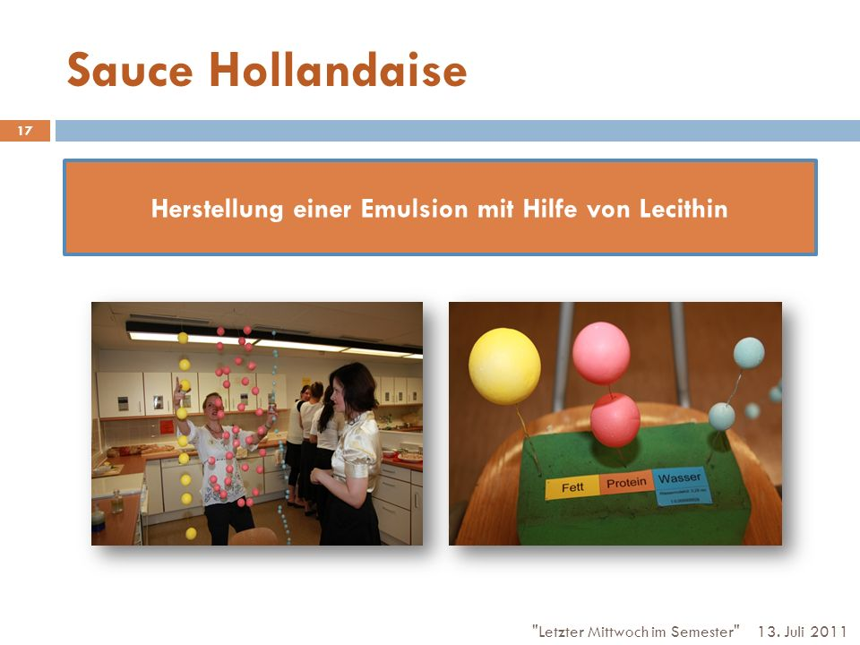 Sauce Hollandaise 13.