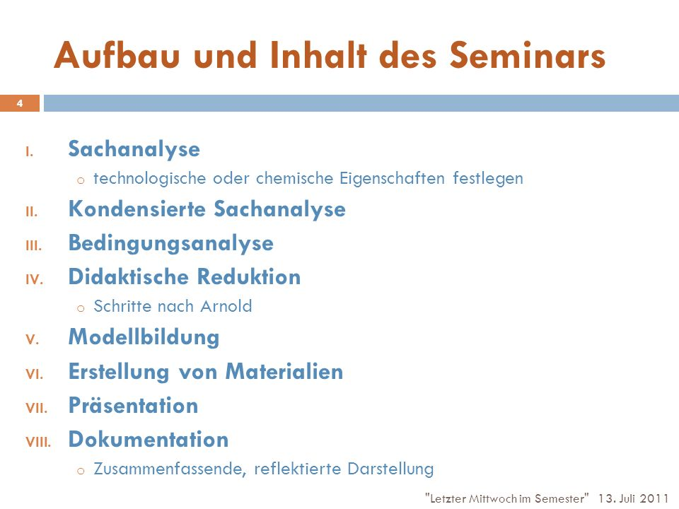 Quellenverzeichnis Arnold, R.(1990): Entzerrung der didaktischen Planung.