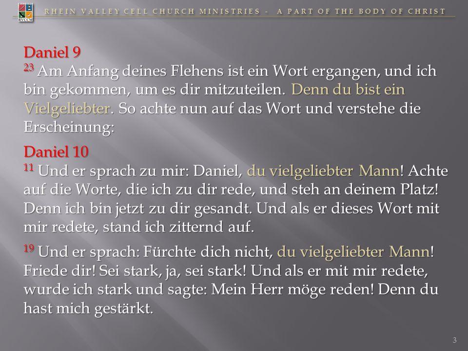 RHEIN VALLEY CELL CHURCH MINISTRIES - A PART OF THE BODY OF CHRIST 630620610600590580570560550530540 Daniels Lebensweg 84 J.