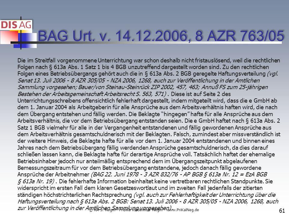 BAG Urt.v.
