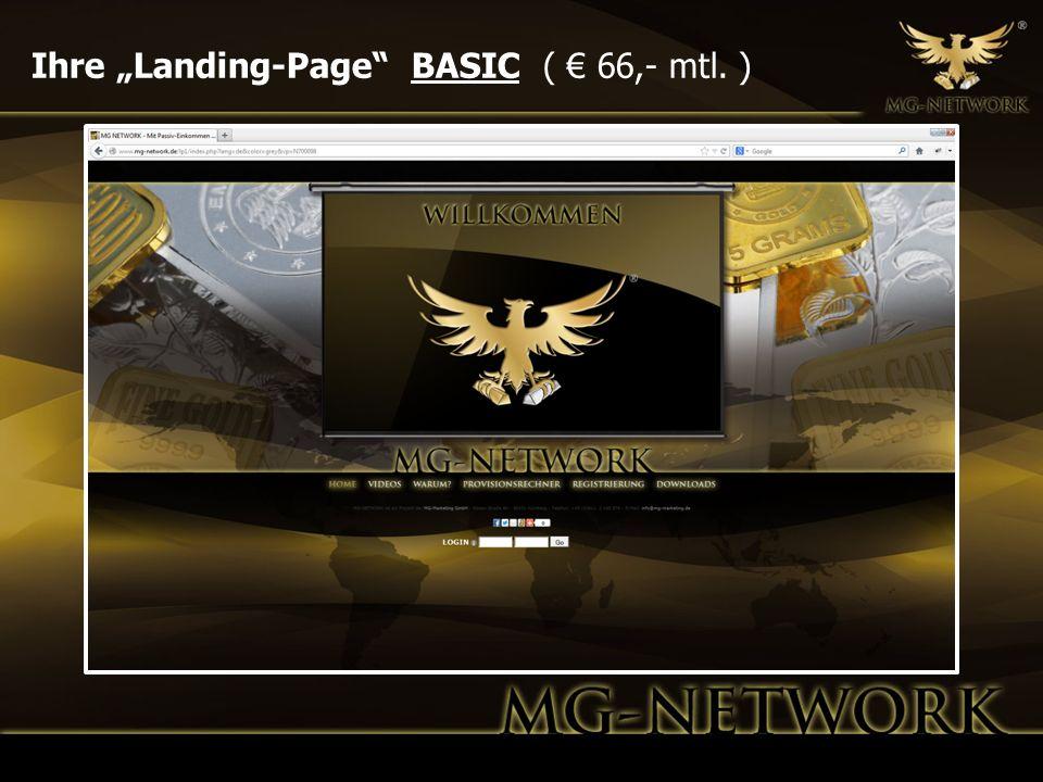 Ihre Landing-Page BASIC ( 66,- mtl. )