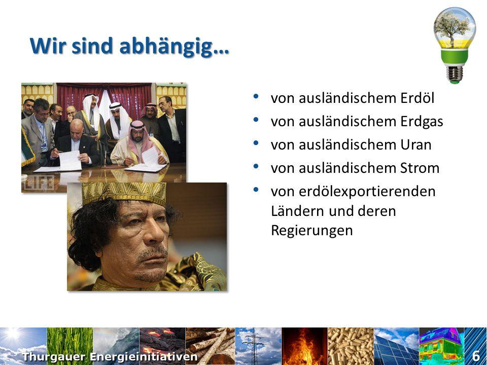 Packen wir es gemeinsam an! Ja zur Verfassungsinitiative. 16 www.energie-tg.ch