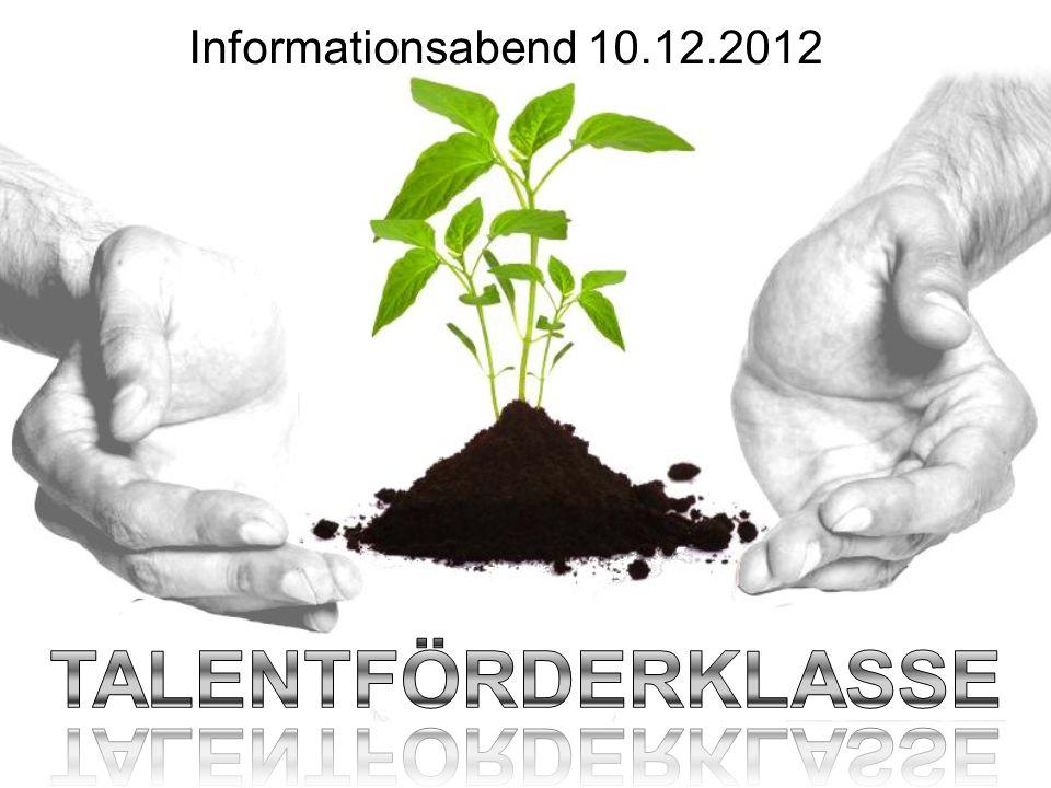 Informationsabend 10.12.2012
