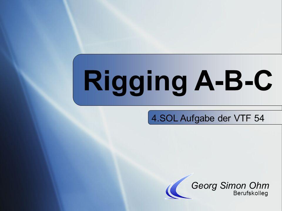 4.SOL Aufgabe der VTF 54 Rigging A-B-C Georg Simon Ohm Berufskolleg