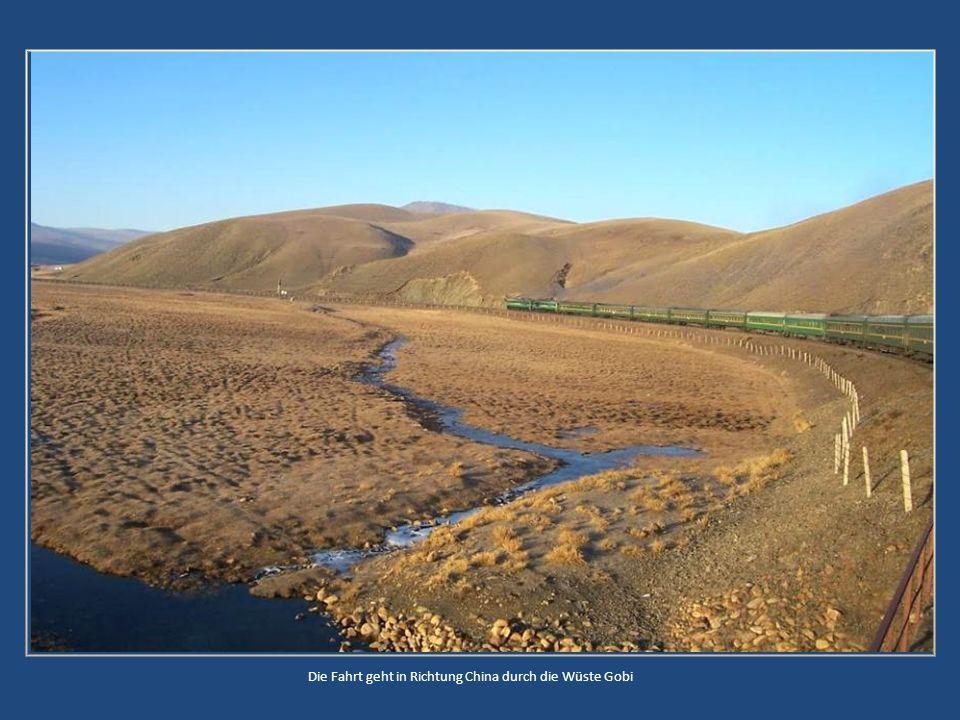Ulan Bator, Hauptstadt der Mongolei Die Mongolen leben zum Teil noch in Jurten