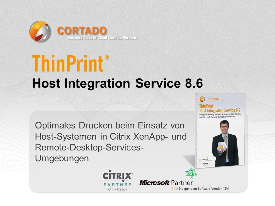 Was ist der ThinPrint Host Integration Service.