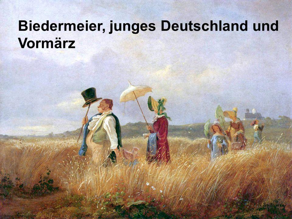 Junges Deutschland und Vormärz Soziale Not und Unzufriedenheit Immer mehr Protest franz.