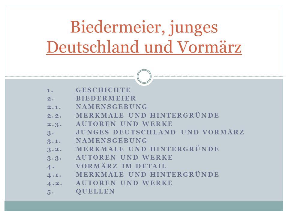 Namensgebung Vereinigung junger engagierter Schriftsteller Ludolf Wienbarg: Dem jungen Deutschland, nicht dem alten widme ich dieses Buch