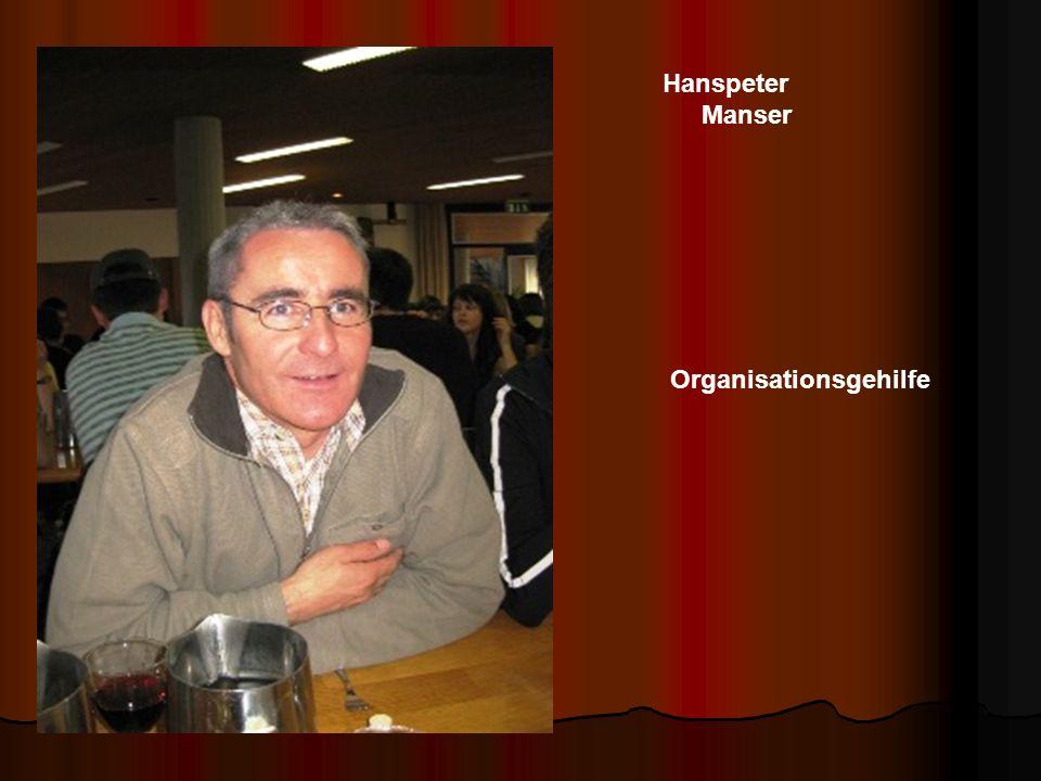 Hanspeter Manser Organisationsgehilfe