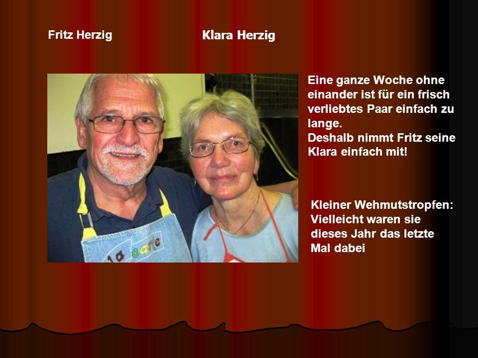 Fritz Herzig Eine ganze Woche ohne einander ist für ein frisch verliebtes Paar einfach zu lange.