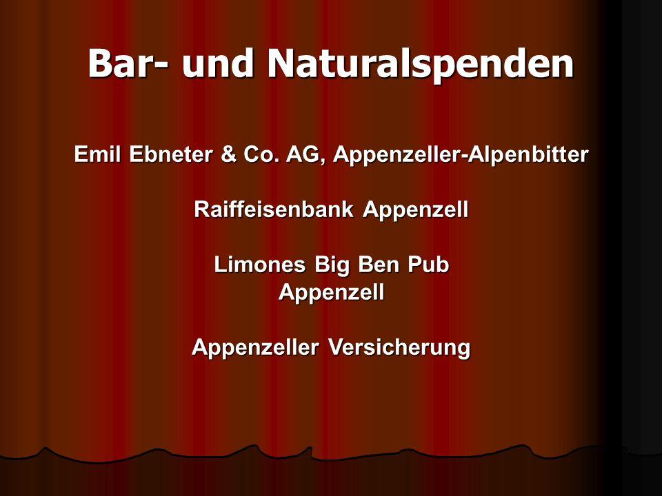 Bar- und Naturalspenden Emil Ebneter & Co.