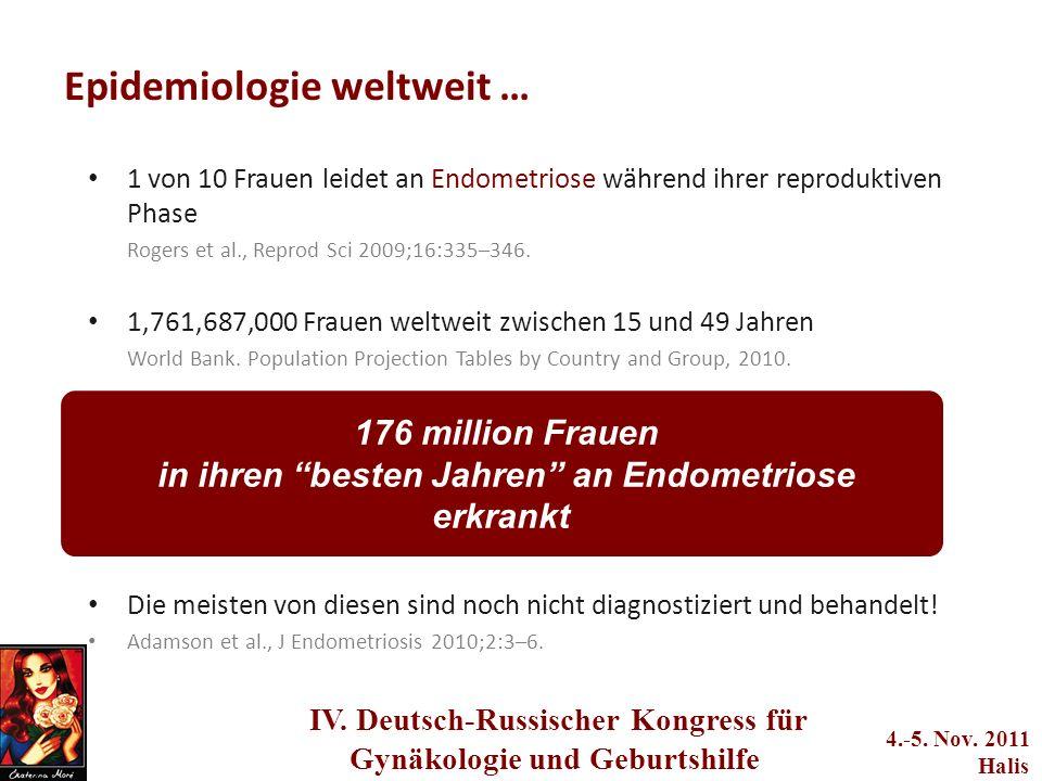 adwerwerwerwere q2we4234233 IV. Deutsch-Russischer Kongress für Gynäkologie und Geburtshilfe 4.-5. Nov. 2011 Halis Epidemiologie weltweit … 1 von 10 F