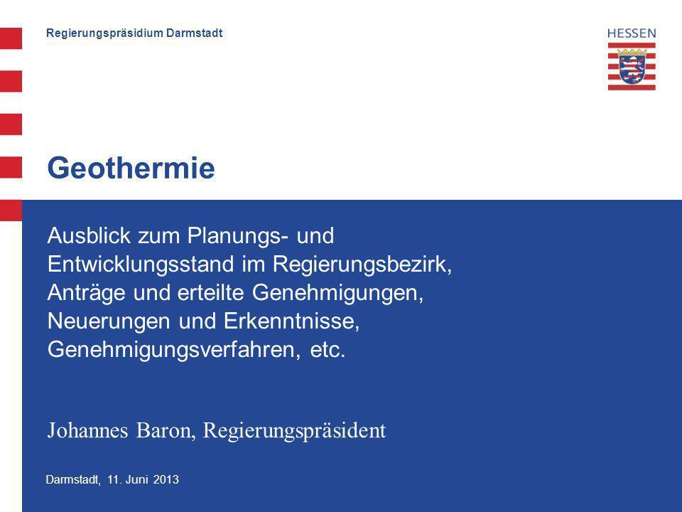 Regierungspräsidium Darmstadt Darmstadt, 11.