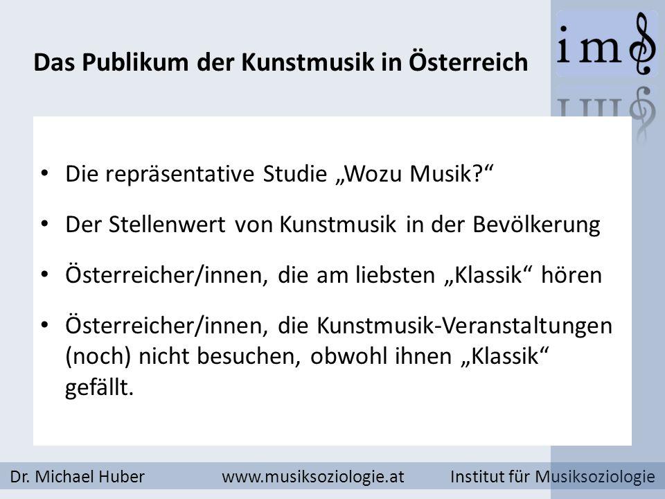 Wer historische Kunstmusik bevorzugt hört öfter aufmerksam Musik.
