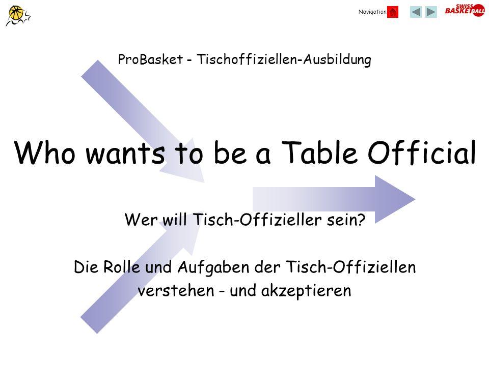 Navigation Who wants to be a Table Official Wer will Tisch-Offizieller sein? Die Rolle und Aufgaben der Tisch-Offiziellen verstehen - und akzeptieren