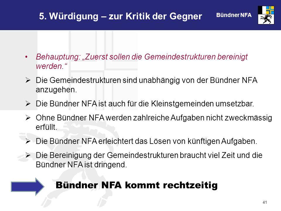 Bündner NFA 41 5.