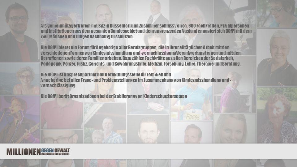 Als gemeinnütziger Verein mit Sitz in Düsseldorf und Zusammenschluss von ca.