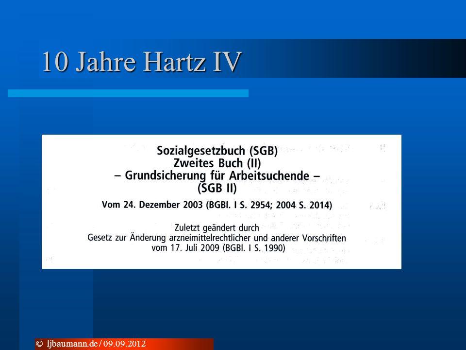 10 Jahre Hartz IV © ljbaumann.de / 09.09.2012