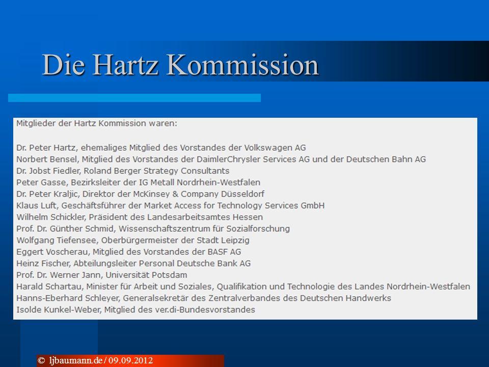 Die Hartz Kommission © ljbaumann.de / 09.09.2012