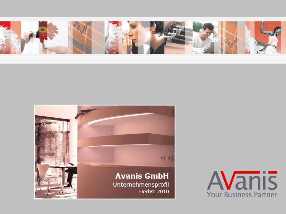 Avanis GmbH Unternehmensprofil Herbst 2010