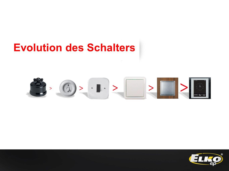 Evolution des Schalters