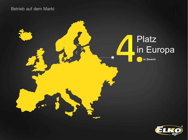 Betrieb auf dem Markt Platz in Europa im Bereich