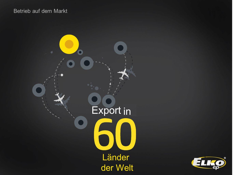 Betrieb auf dem Markt Export do Länder der Welt in