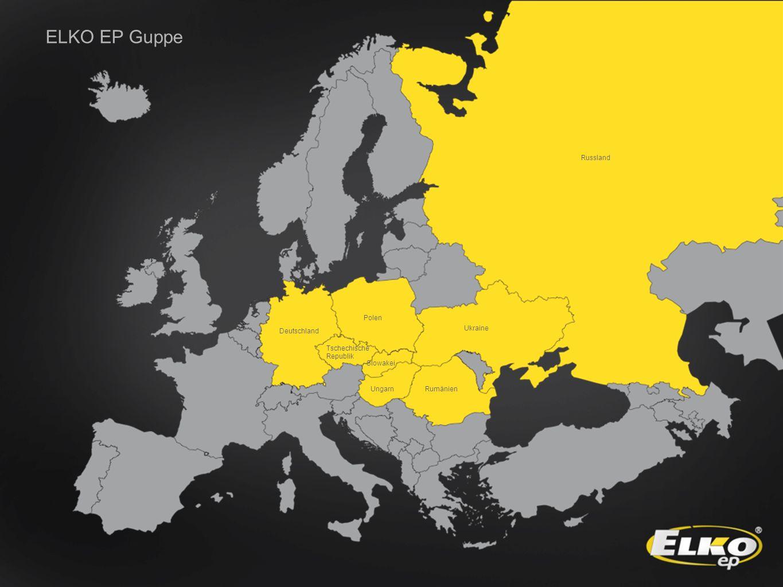 ELKO EP Guppe Russland Polen Slowakei Ungarn Ukraine Tschechische Republik Rumänien Deutschland