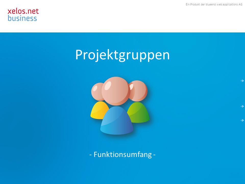 Ein Produkt der blueend web:applications AG Allgemeine Informationen.