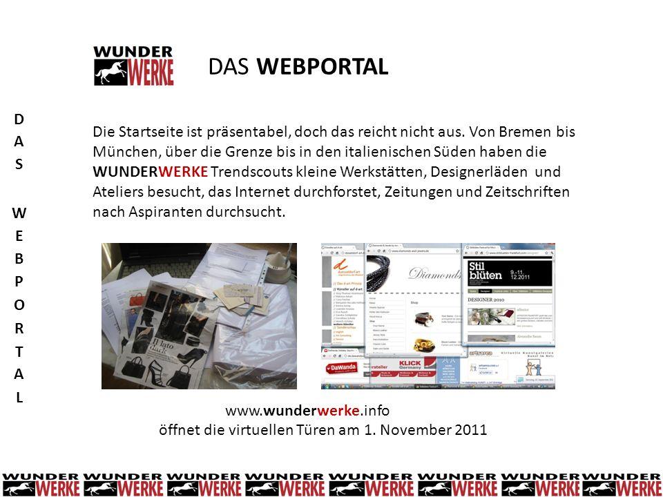 DAS WEBPORTAL Die Startseite ist präsentabel, doch das reicht nicht aus. Von Bremen bis München, über die Grenze bis in den italienischen Süden haben