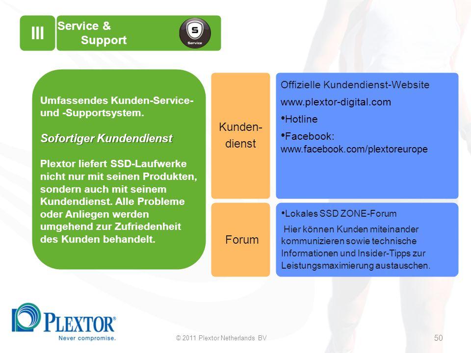 Service & Support Offizielle Kundendienst-Website www.plextor-digital.com Hotline Facebook: www.facebook.com/plextoreurope Lokales SSD ZONE-Forum Hier können Kunden miteinander kommunizieren sowie technische Informationen und Insider-Tipps zur Leistungsmaximierung austauschen.