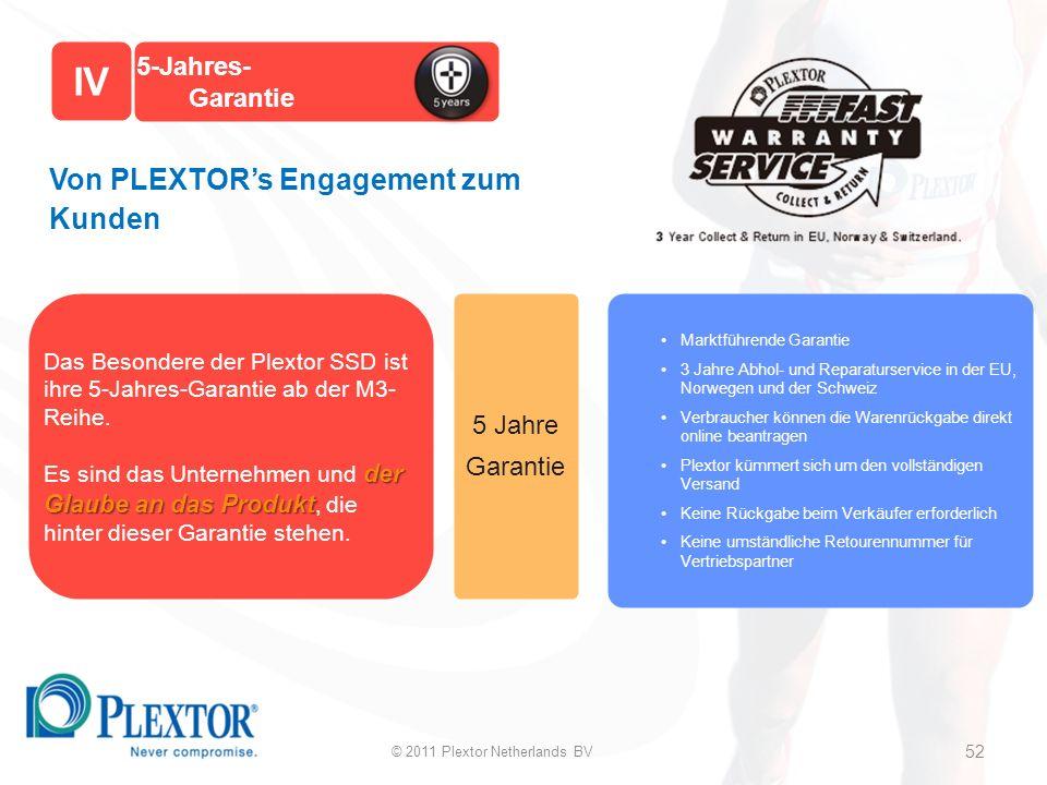 5-Jahres- Garantie 5 Jahre Garantie Von PLEXTORs Engagement zum Kunden Marktführende Garantie 3 Jahre Abhol- und Reparaturservice in der EU, Norwegen und der Schweiz Verbraucher können die Warenrückgabe direkt online beantragen Plextor kümmert sich um den vollständigen Versand Keine Rückgabe beim Verkäufer erforderlich Keine umständliche Retourennummer für Vertriebspartner Das Besondere der Plextor SSD ist ihre 5-Jahres-Garantie ab der M3- Reihe.