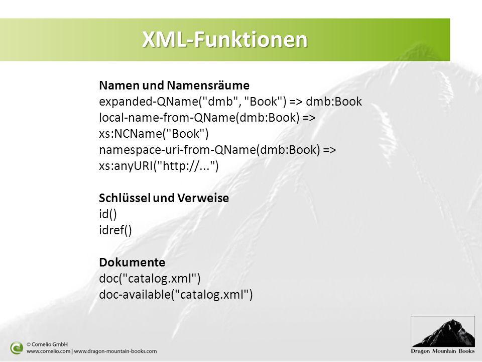 XML-Funktionen Namen und Namensräume expanded-QName(
