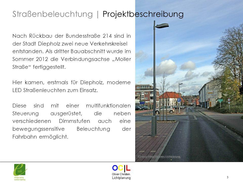 4 Anwendung der DIN EN 13201 für Tempo 30 Zone Normgerechte Beleuchtung der Fußgängerüberwege (FGÜ) Besondere Verkehrssicherheit für Fußgänger und Radfahrer (Schulweg) Straßenbeleuchtung | Planungsvorgaben