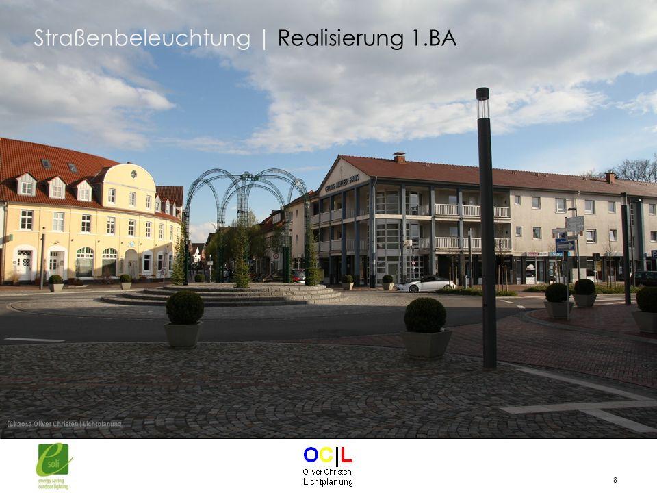 8 Straßenbeleuchtung | Realisierung 1.BA