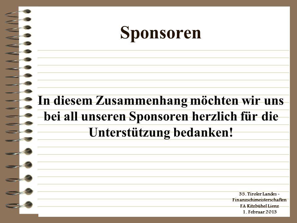 35.Tiroler Landes - Finanzschimeisterschaften FA Kitzbühel Lienz 1.