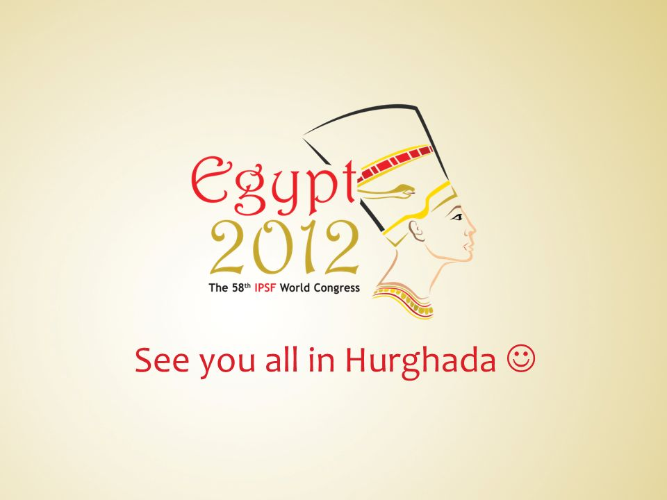 See you all in Hurghada