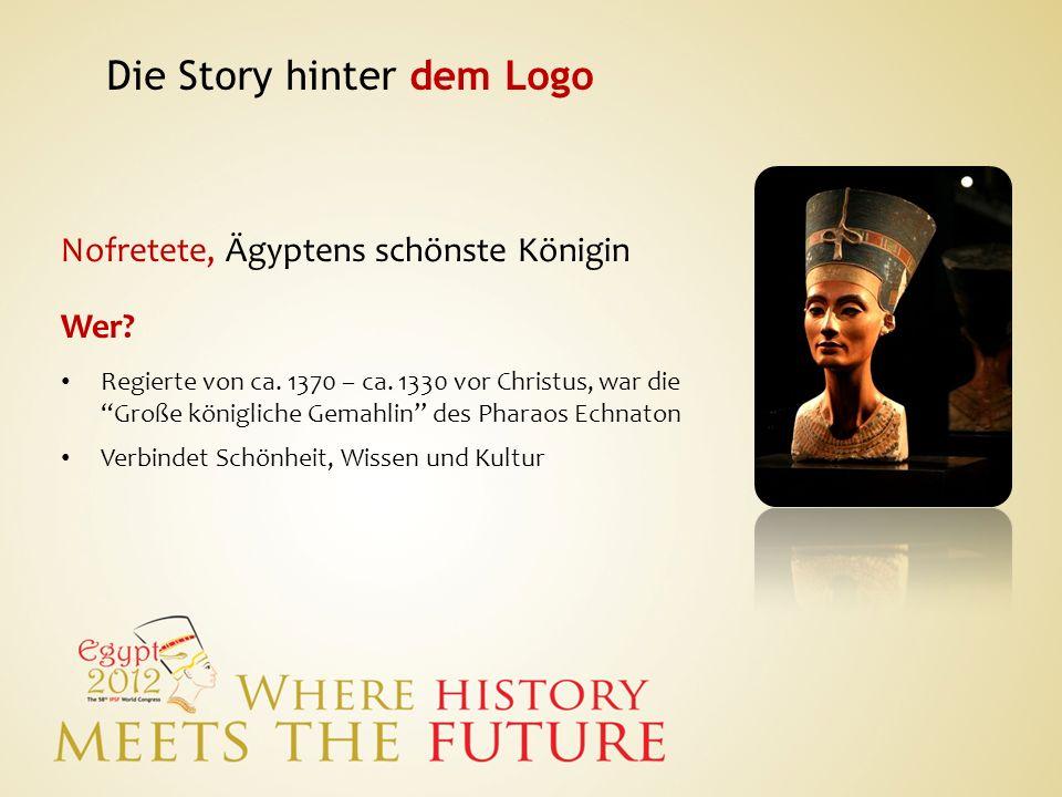 Nofretete, Ägyptens schönste Königin Wer? Regierte von ca. 1370 – ca. 1330 vor Christus, war die Große königliche Gemahlin des Pharaos Echnaton Verbin