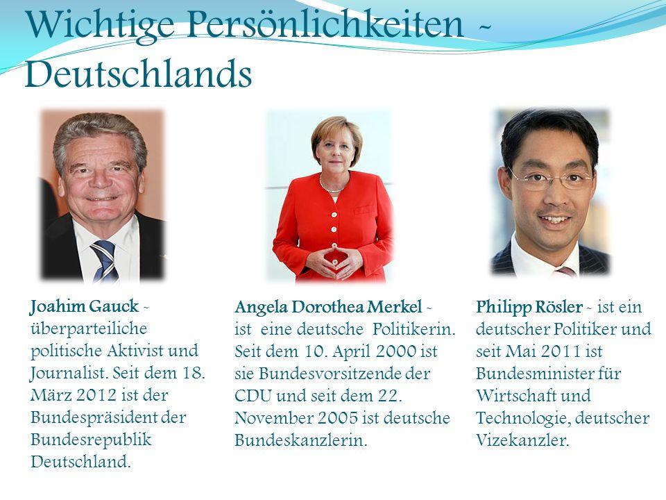 Wichtige Persönlichkeiten - Österreichs Heinz Fischer - ist ein österreichischer Politiker.