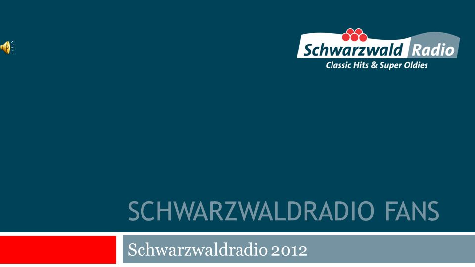 SCHWARZWALDRADIO FANS Schwarzwaldradio 2012