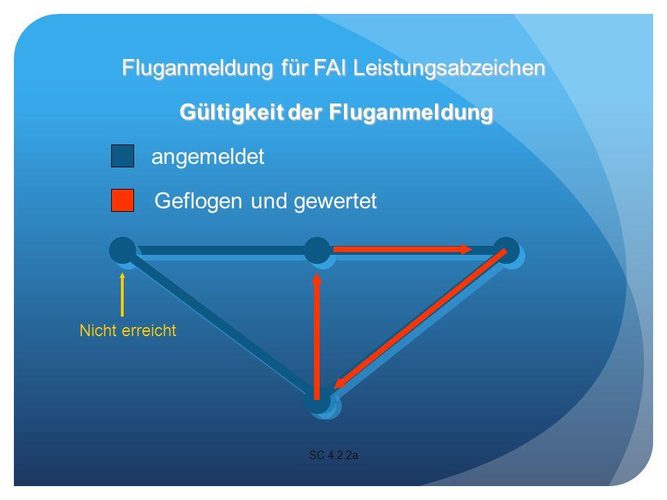 Ein Barograph oder ein Gerät, das einen Barographen enthält, muss während des gesamten Fluges arbeiten.